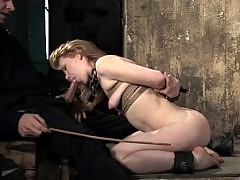 Madison Young trained to serve cock