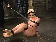 Lorelei Lee gets wrapped in red leather and dunked